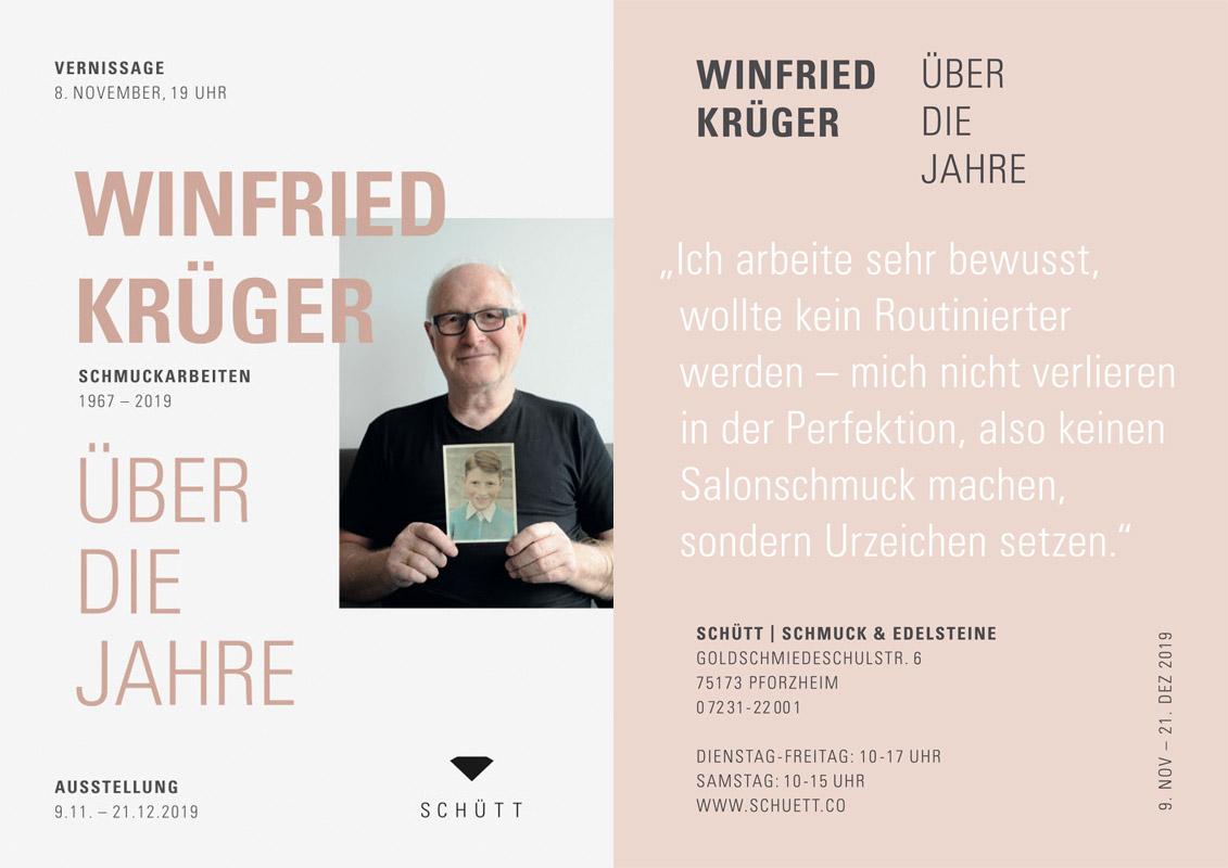 Winfried Krüger: Über die Jahre